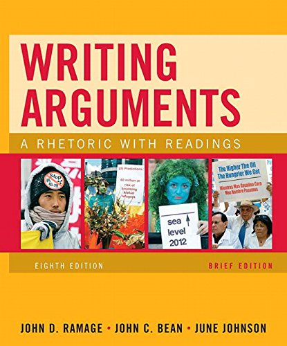 9780205665761: Writing Arguments, Brief Edition: A Rhetoric with Readings (8th Edition)