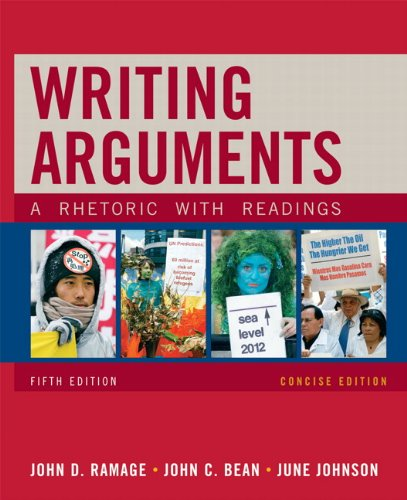 9780205665778: Writing Arguments, Concise Edition: A Rhetoric with Readings (5th Edition)