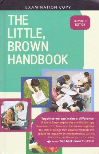 9780205665860: The Little, Brown Handbook Examination Copy