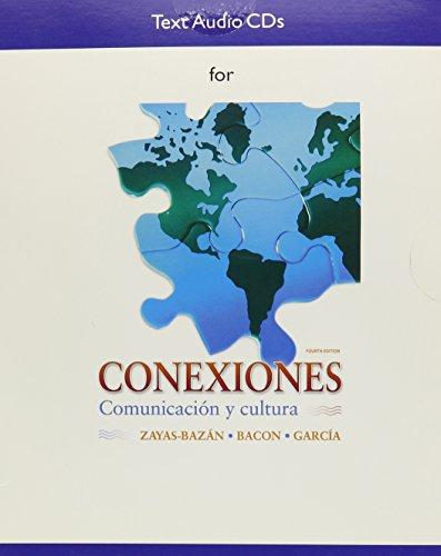 9780205666706: Audio CDs for Conexiones: Comunicacion y cultura