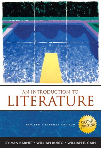 9780205668373: Introduction to Literature, An (Second Printing)