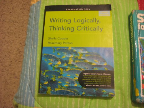 9780205668588: Writing Logically Thinking Critically