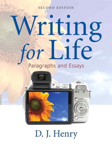 9780205668717: Writing for Life: Paragraphs and Essays (2nd Edition) (Henry Writing Series)