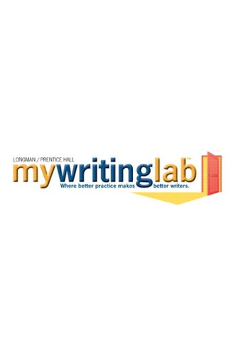 9780205668984: MyWritingLab -- Standalone Access Card (12-month access)