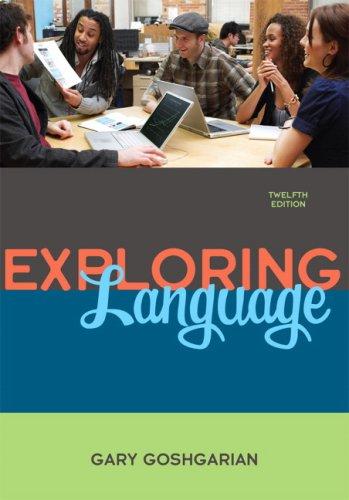 9780205672660: Exploring Language (12th Edition)