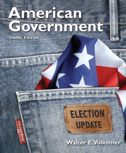 9780205672714: American Government, Election Update (12th Edition)