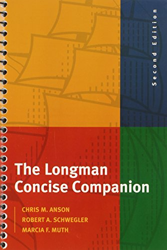 The Longman Concise Companion (2nd Edition): Chris M. Anson