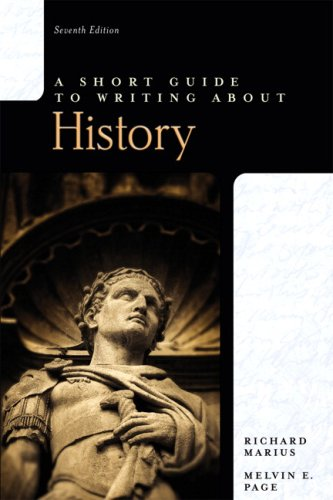 9780205673704: Short Guide to Writing about History, A (7th Edition)