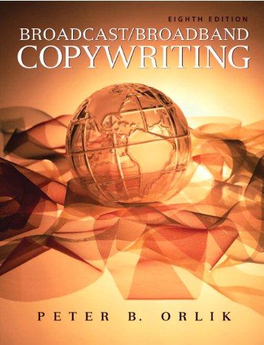 9780205674527: Broadcast/Broadband Copywriting (8th Edition)