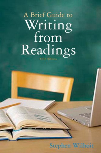 9780205674596: Brief Guide to Writing from Readings, A (5th Edition)