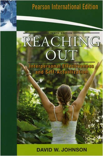 9780205674961: Reaching Out: Interpersonal Effectiveness and Self-Actualization: International Edition