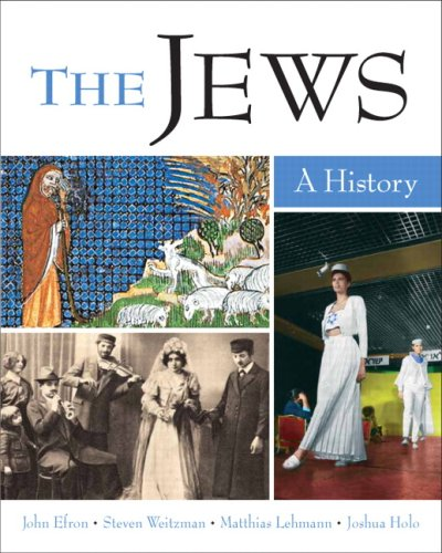9780205677443: The Jews: A History- (Value Pack w/MySearchLab)