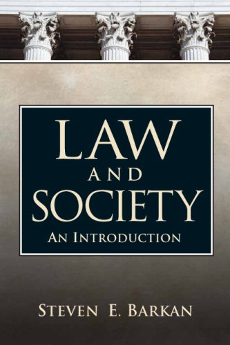 9780205677474: Law and Society: An Introduction [With Mysearchlab]