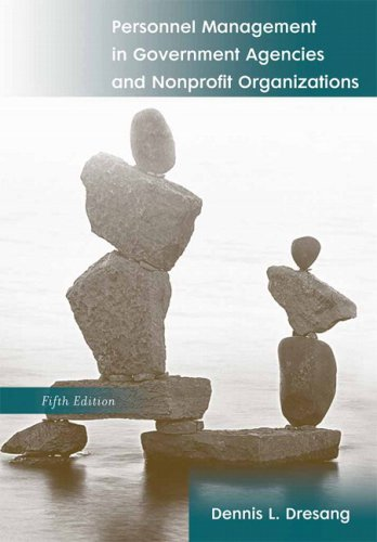 9780205677696: Personnel Management In Government Agencies And Nonprofit Organizations- (Value Pack w/MySearchLab) (5th Edition)