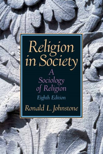 9780205678549: Religion In Society: A Sociology Of Religion- (Value Pack w/MySearchLab) (8th Edition)