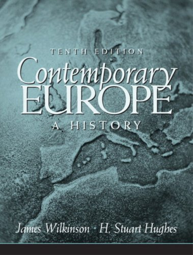 9780205678884: Contemporary Europe: A History- (Value Pack w/MySearchLab) (10th Edition)
