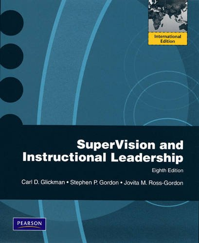 9780205679393: SuperVision and Instructional Leadership: A Developmental Approach: International Edition