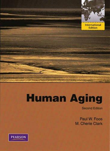 9780205680641: Human Aging