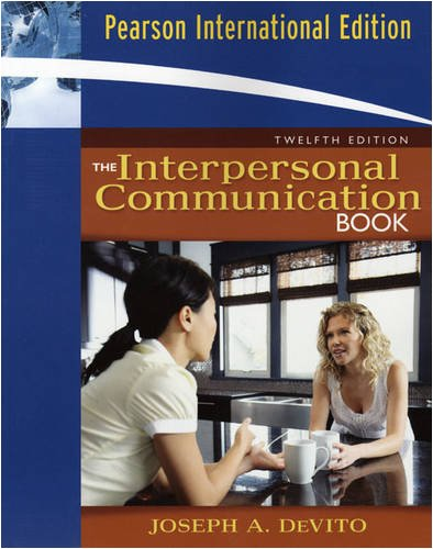 9780205682348: The Interpersonal Communication Book