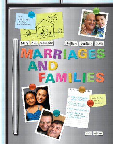 9780205683147: Marriages and Families: Diversity and Change (6th Edition)