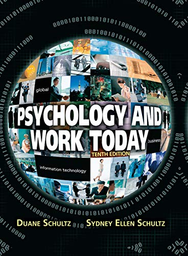 9780205683581: Psychology and Work Today, 10th Edition