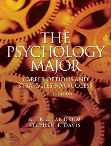 9780205684687: The Psychology Major: Career Options and Strategies for Success (4th Edition)