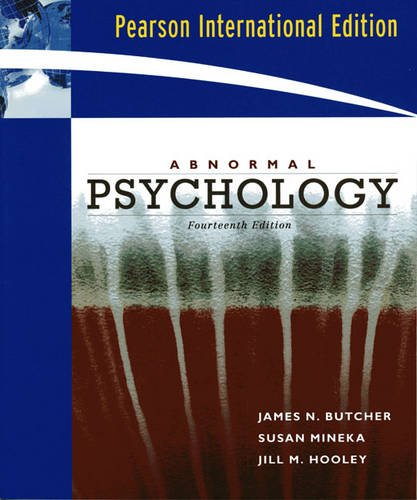 9780205685066: Abnormal Psychology