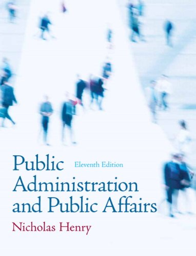 9780205685516: Public Administration and Public Affairs (11th Edition)