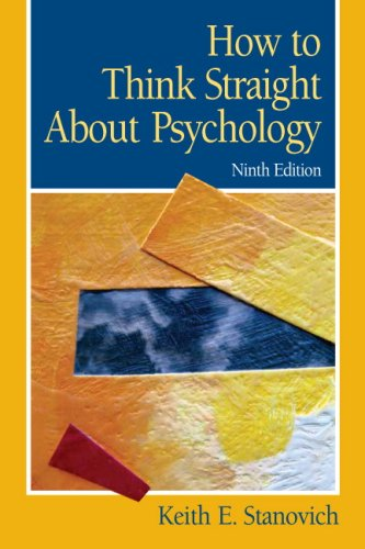 9780205685905: How To Think Straight About Psychology (9th Edition)
