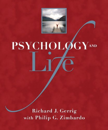 9780205685912: Psychology and Life (Mypsychlab (Access Codes))