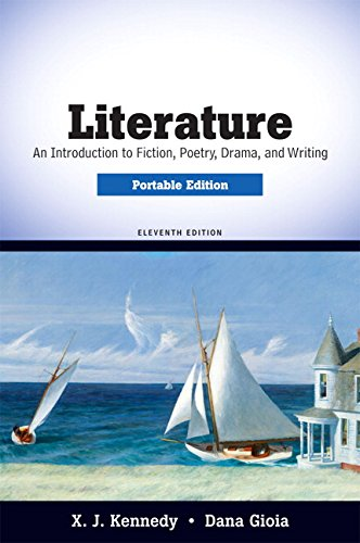 9780205686100: Literature: An Introduction to Fiction, Poetry, Drama, and Writing, Portable Edition (11th Edition)