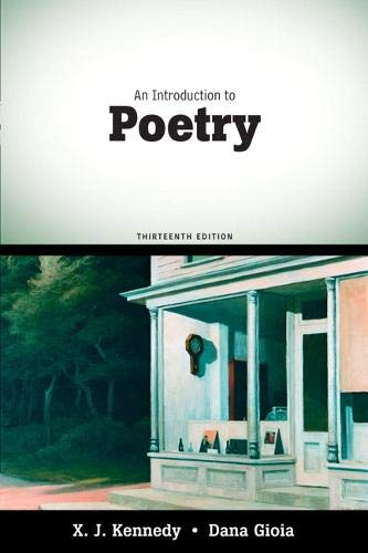 9780205686124: An Introduction to Poetry (13th Edition)
