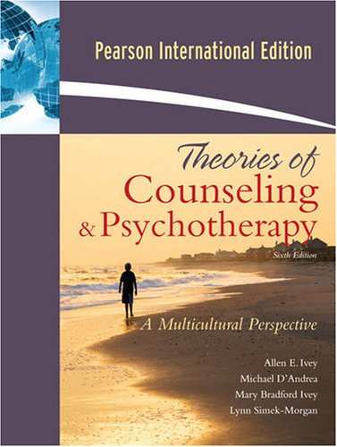 9780205687138: Theories of Counseling and Psychotherapy: A Multicultural Perspective