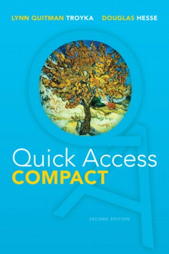 Quick Access Compact (2nd Edition): Troyka, Lynn Q.;