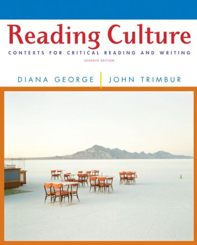 9780205688074: Reading Culture: Contexts for Critical Reading and Writing (7th Edition)