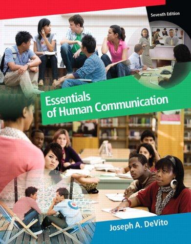 9780205688081: Essentials of Human Communication