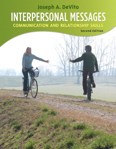9780205688647: Interpersonal Messages: Communication and Relationship (2nd Edition)