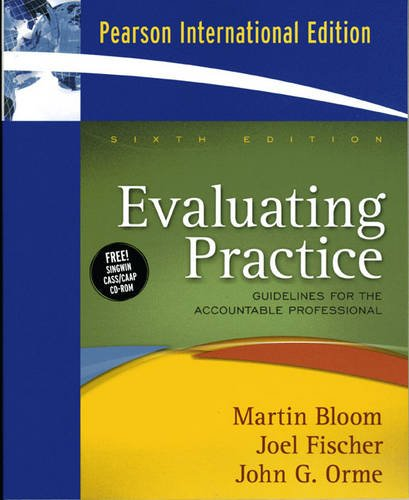 9780205689071: Evaluating Practice: Guidelines for the Accountable Professional