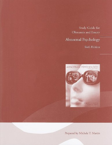 9780205691302: Study Guide with Practice Tests for Abnormal Psychology