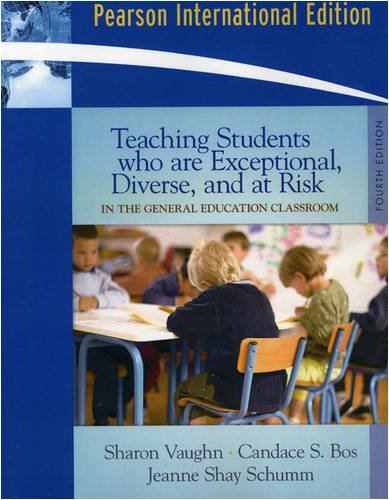 9780205692361: Teaching Students Who Are Exceptional, Diverse, and at Risk in the General Education Classroom: International Edition