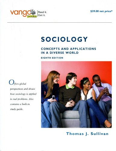 9780205692880: Sociology: Concepts and Applications in a Diverse World