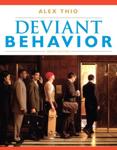 9780205693238: Deviant Behavior (10th Edition)