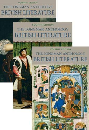 9780205693337: The Longman Anthology of British Literature
