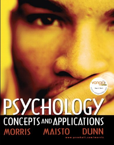 9780205693672: Psychology: Concepts and Applications (with Self Assessment Library 3.4)