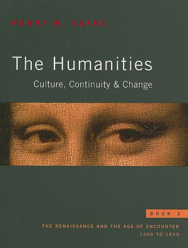 sayre the humanities book 5 Humanities, the: culture, continuity, and change, book 1 reprint by henry m sayre.