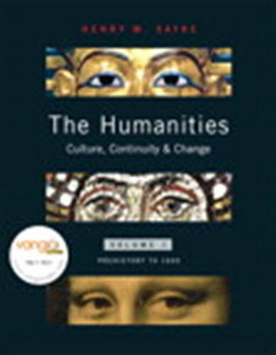 9780205695157: The Humanities: Culture, Continuity, and Change, Volume 1 Reprint (with with MyHumanitiesKit) (v. 1)
