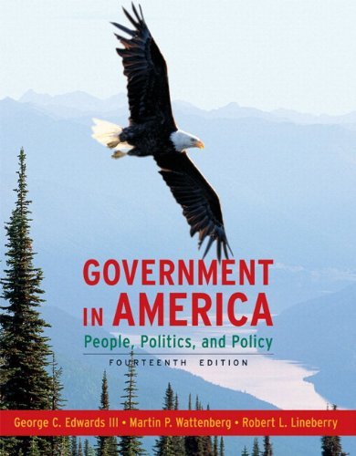 9780205695850: MyPoliSciLab Student Access Code Card for Government in America (standalone) (14th Edition)