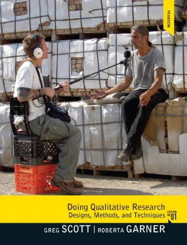 9780205695935: Doing Qualitative Research: Designs, Methods, and Techniques