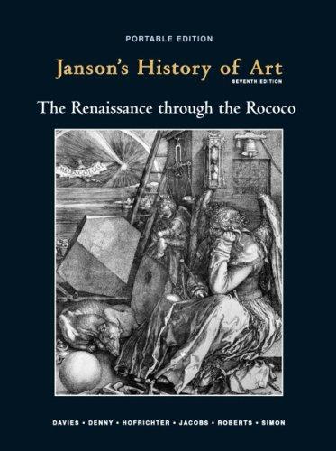 Janson's History of Art Portable Edition Book: Frima Fox Hofrichter;