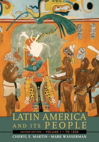 9780205697731: Latin America And Its People, Volume 1 (To 1830)- (Value Pack w/MySearchLab) (2nd Edition)